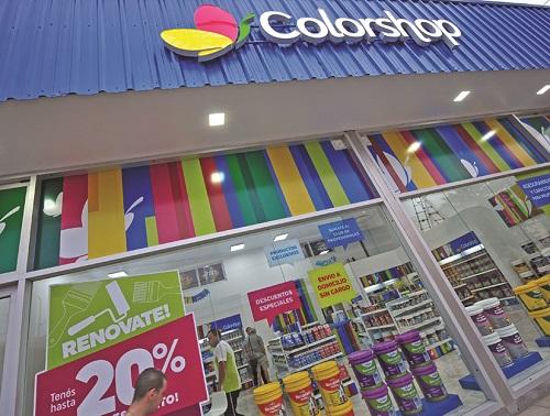 Franquicia Pinturerías Colorshop