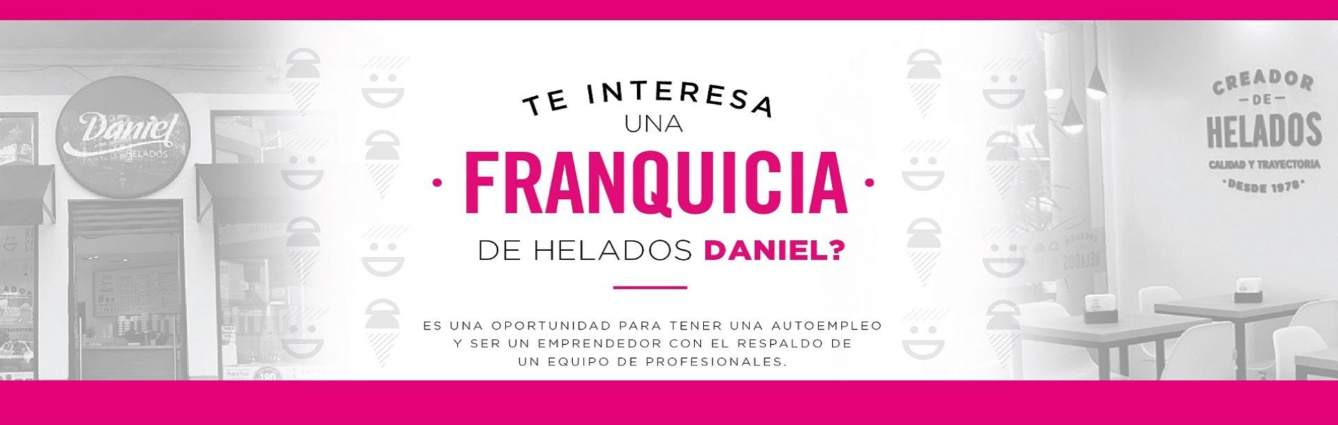 Franquicia Daniel Helados