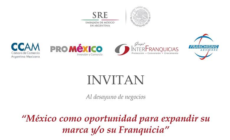 Invitación desayuno Embajada de México.